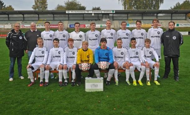 Unsere A-Junioren der Saison 2013/14.