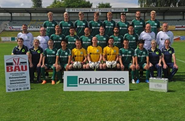 Unsere Oberligamannschaft 2014/15.